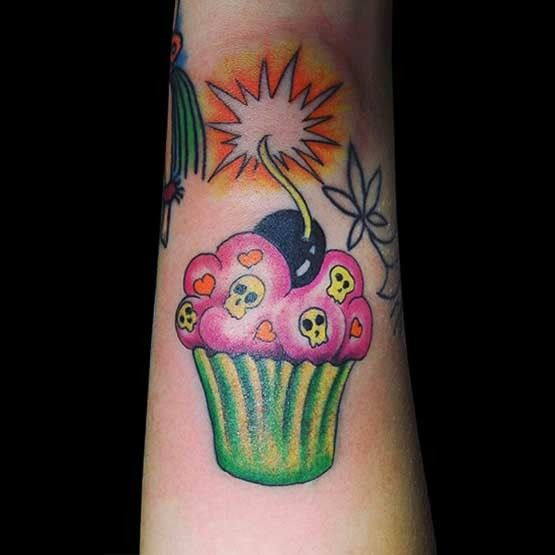 17 Best images about Cake Tattoos for Hardcore Bakers on ...