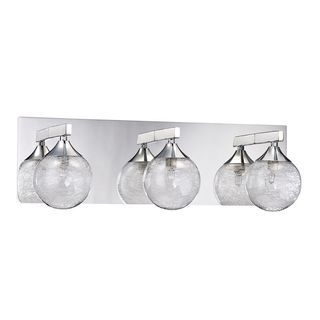 Shop For Hank 3 Light Chrome Bath Vanity. Get Free Delivery At Overstock.