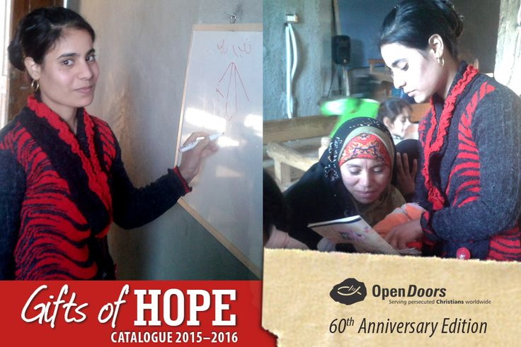 Teaching marginalised Christian women in the Middle East to read, can be life-changing: not only does being literate bring them new dignity, but it also provides them with opportunities to gain employment and social acceptance.  Give the gift of literacy to a persecuted Christian woman this Christmas: R 40 enables one woman to attend literacy training for one month.  #gift #persecution