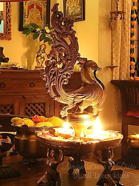 575 best images about diwali decor ideas on pinterest for Simple diwali home decorations