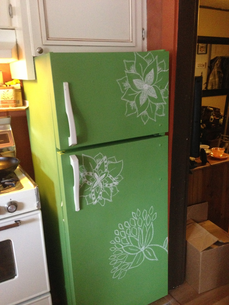 17 best images about paint small projects on pinterest for Chalkboard appliance paint