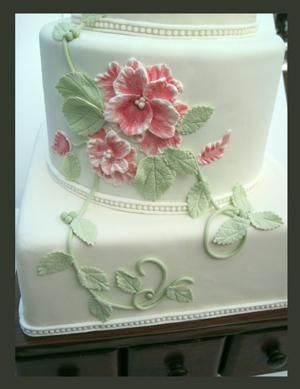 Learn Brush Embroidery on Craftsy!: Vintage Cakes, Modern Methods