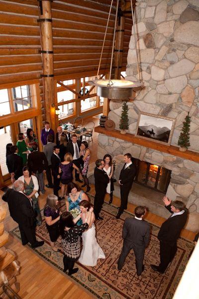 Snowy Inn Wedding In Washington Ben And Emilys Small Real Winter WeddingWinter WeddingsWinter