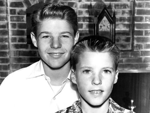 David and Ricky Nelson, The Adventures of Ozzie and Harriet and whom wasn't in love with Ricky? lol!
