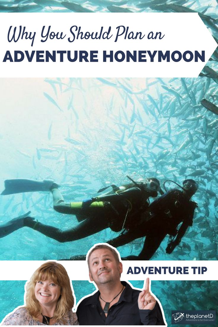 Reasons you should consider planning an adventurous honeymoon! Ideas for planning the adventure of a lifetime. | Blog by The Planet D: Canada's Adventure Travel Couple