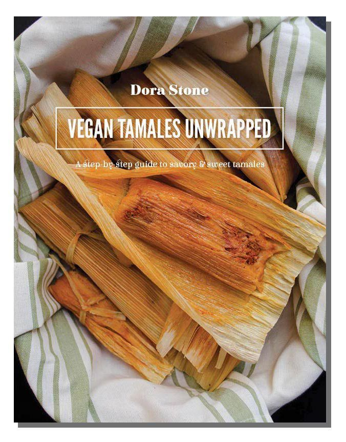Vegan Tamales Unwrapped the ecookbook. With 18 different Tamal recipes with step-by-step instructions.
