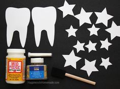 DIY Tooth Fairy Costume Wand and Accessories