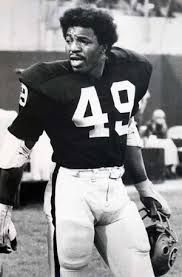 Carl Weathers wore the Silver and Black from 1970-71 before His Apollo days on the Rocky.movie series.