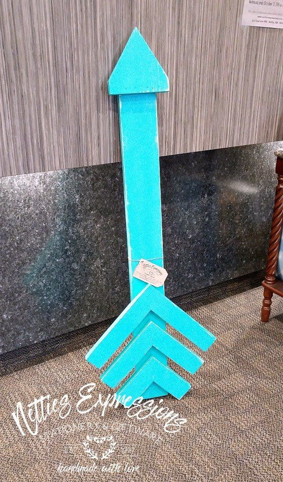 Large Wooden Arrows - Netties Expressions - 2