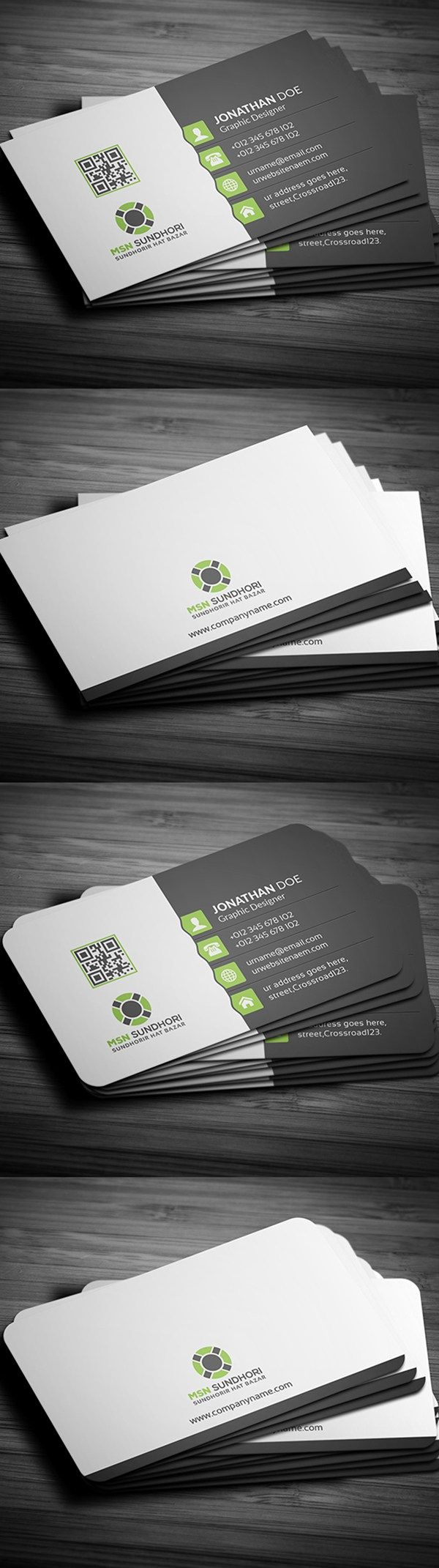 164 Best Business Card Images On Pinterest Psd Templates Business