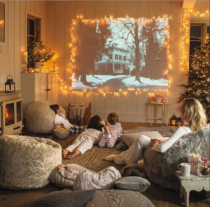 Faux Fur Bean Bag Chair For Family Room Or Theater Room