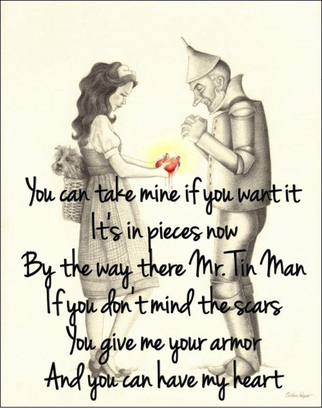 Tin Man - Miranda Lambert -My favorite song right now ❤