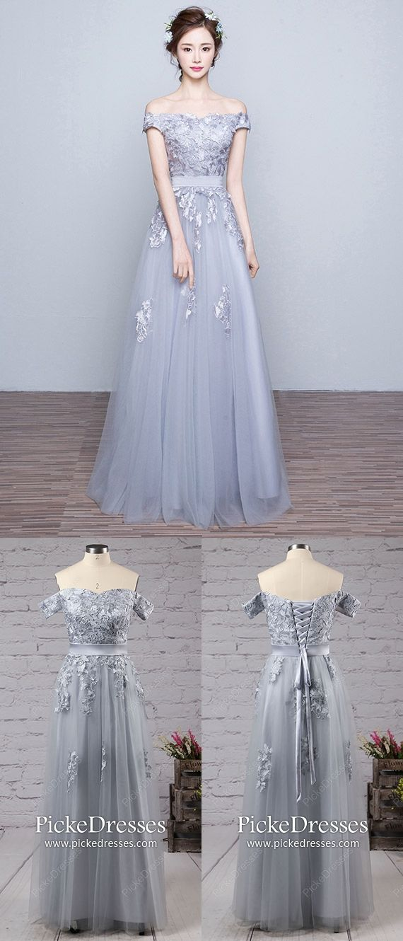 82a8daf21fa Long Prom Dresses Grey