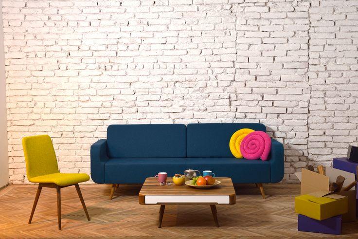 Ena Chair, Ena Sofa and Ena Club Table