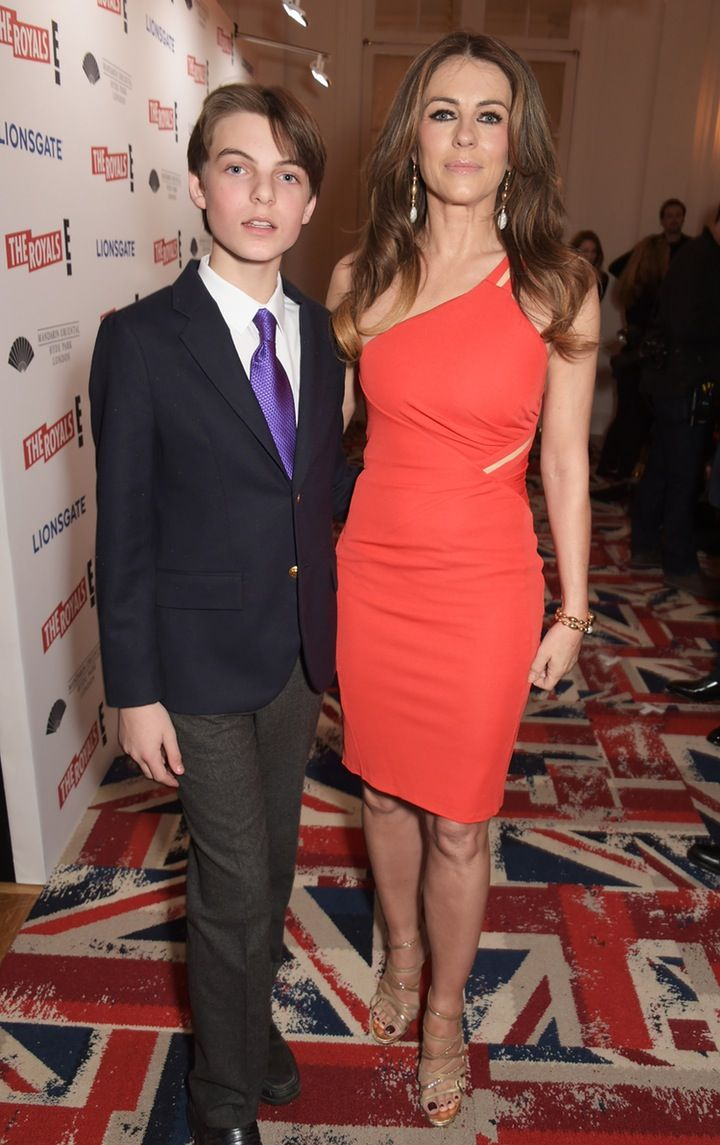 Elizabeth Hurley's Son Damian is All Grown Up — See the New Photos!