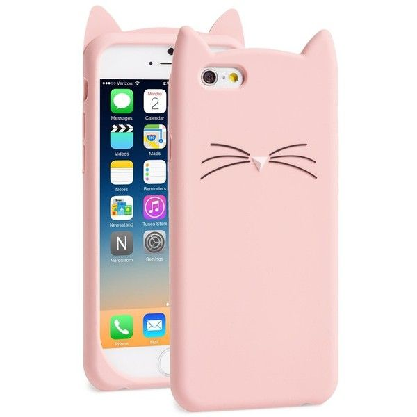 kate spade new york 'cat' iPhone 6 case (305 SVC) ❤ liked on Polyvore