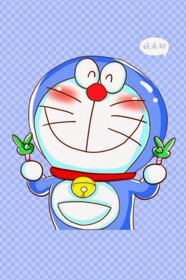 iPhone Wallpaper Doraemon drawing