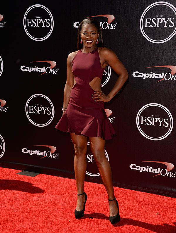 Hottest Bodies on the 2014 ESPYs Red Carpet | Sloane Stephens, Tennis Player