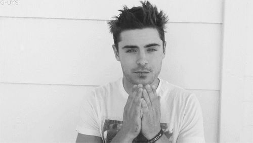 Nothing to see here, just Zac Efron blowing you a kiss and winking AT THE SAME TIME. | 28 Celebrity Winks To Melt Your Actual Heart