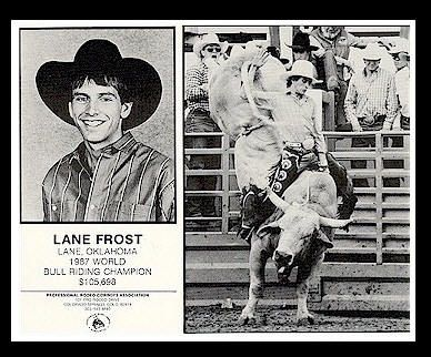 """A man to ride Bull riding may be dumb but damn' it's fun"" LF"