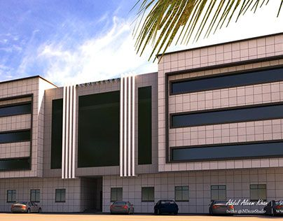 """Check out new work on my @Behance portfolio: """"Exterior Elevation by indecor www.indecorstudio.com""""…"""