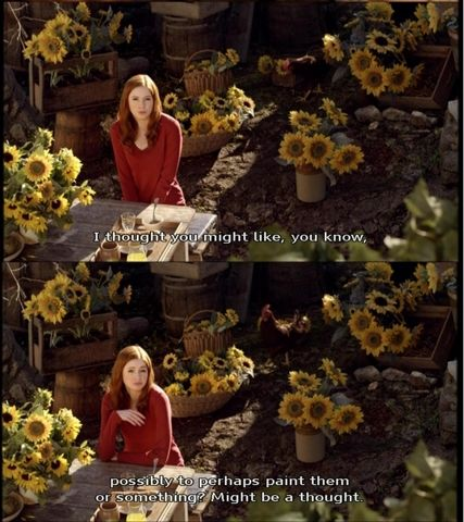 Sunflowers, Doctor Who. My favorite episode. Ever.