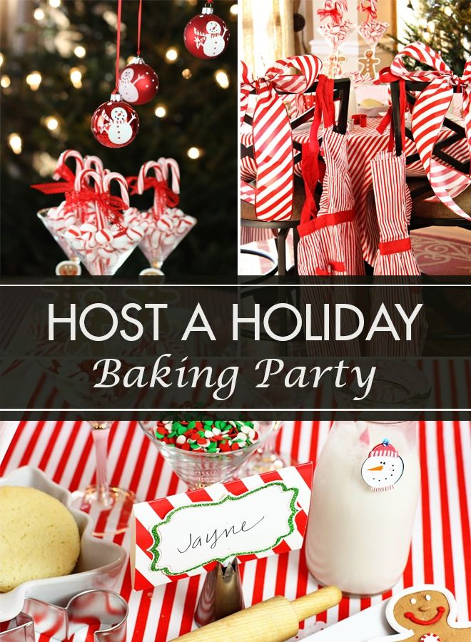 Beautiful Christmas Baking Party Ideas Part - 14: Peppermint Christmas Baking Party