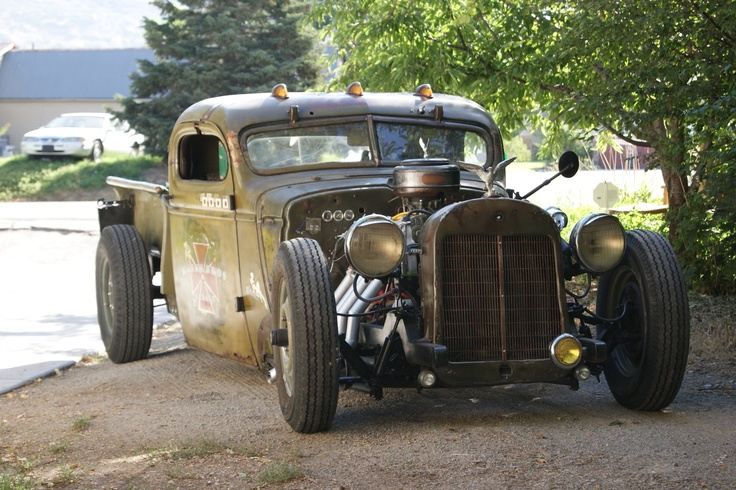 1943 Chevy WWII rat rod truck it is FOR SALE...... | Rat ...