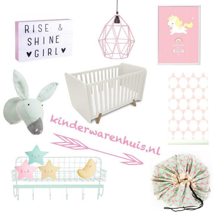 #girls #baby #kidsroom #babyroom #nursery #kinderwarenhuis.nl