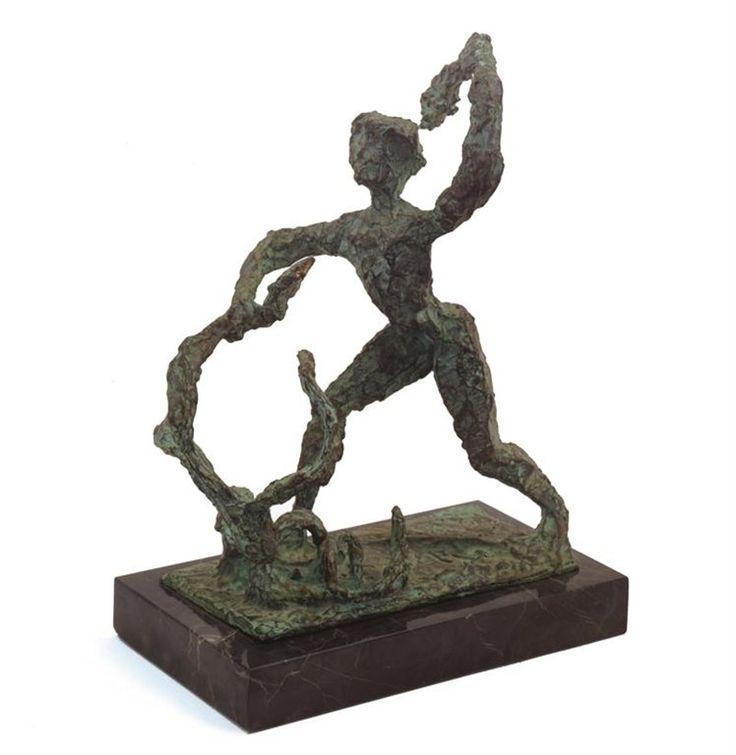 Ηρακλής και Λερναία Ύδρα (1949)  Μπρούτζος   Μουσείο Σύγχρονης Τέχνης