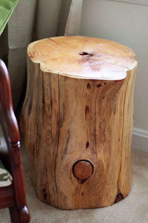 wood tree trunk - I want this! Anyone have a free tree trunk?