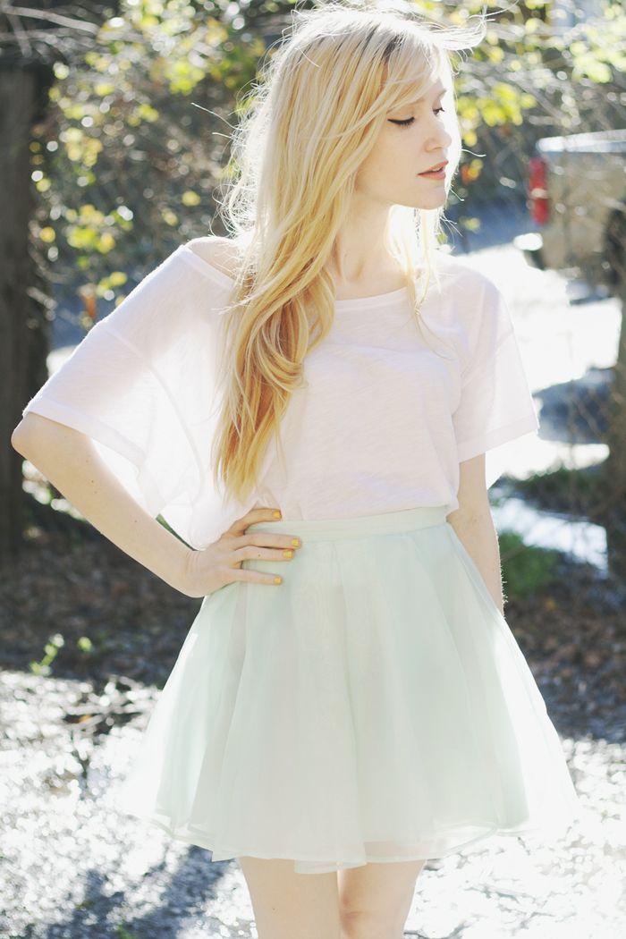 Pretty: Summer Dresses, Mint Green, Fashion Clothing, Fashion Style, Mint Skirts, Cute Outfits, Victoria Secret, White Dress, Style Fashion