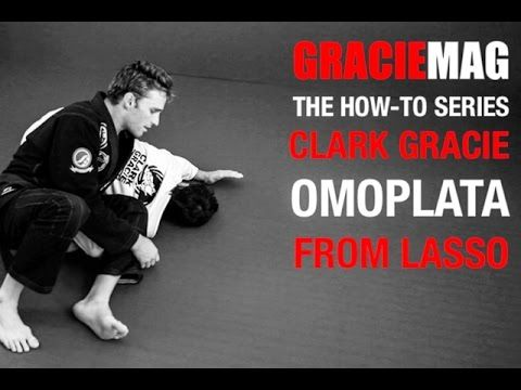 Omoplata from Lasso Guard