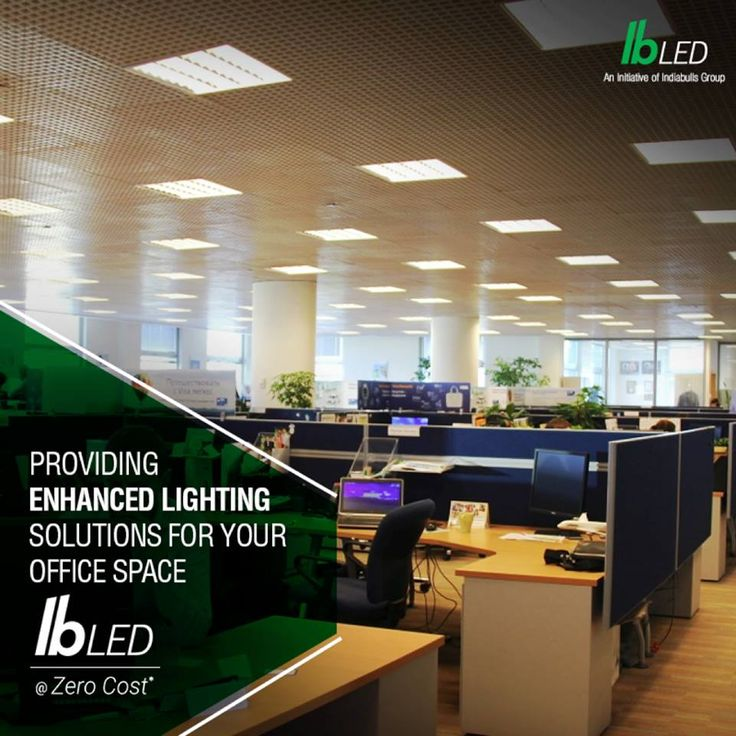 office space lighting. Eco-friendly And Power Saving Lighting Schemes For Your Office Space @ZeroCost.