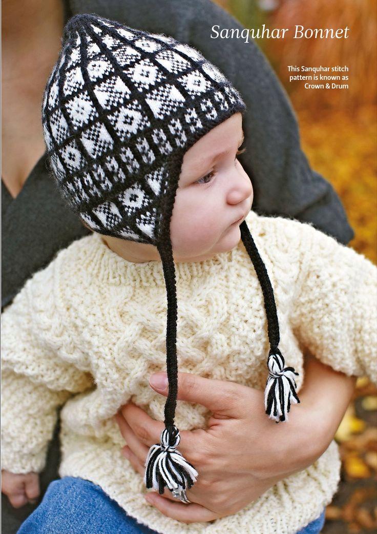 Вязание для малышей шапочки Sandquhar (с изображениями ...