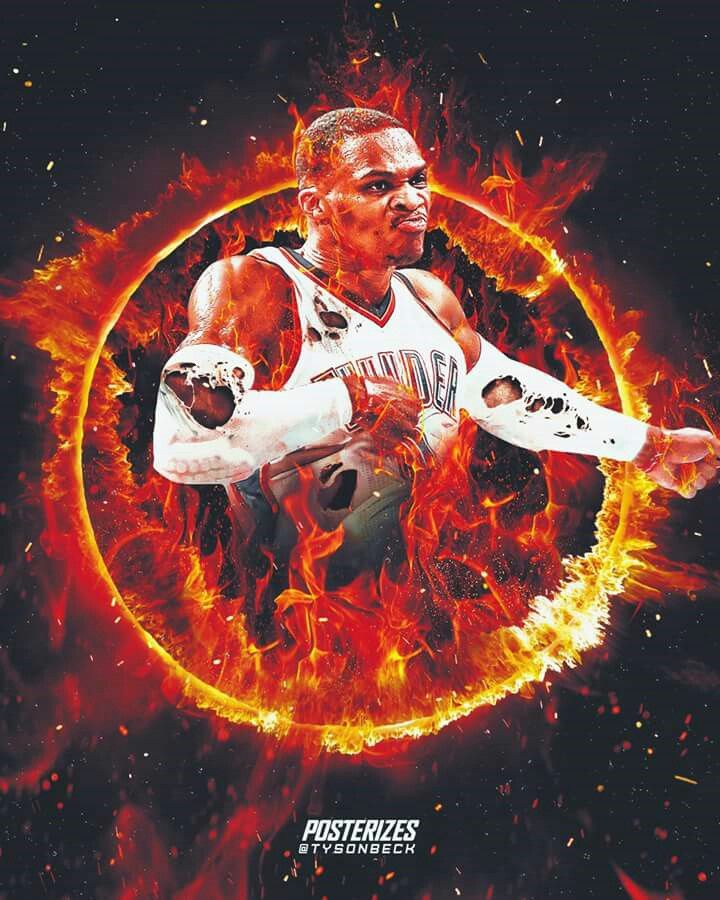 Russell Westbrook plays with the same fire, intensity, passion, competitiveness and loyalty that was showcased across the superstars in the 80's, 90's and early 00's eras. Hard not to love watching a guy leave it all out on the court every night
