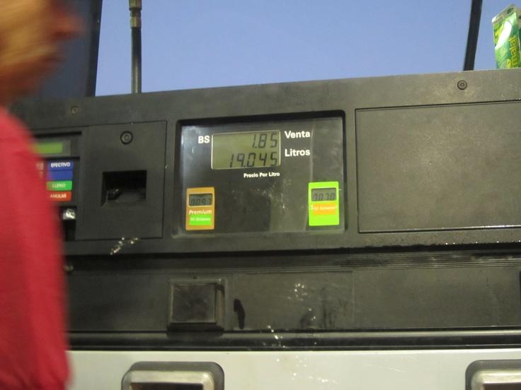 La gasolina mas barata del mundo