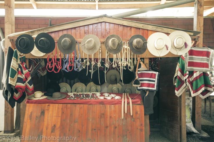 Market in Valdivia, Chile.