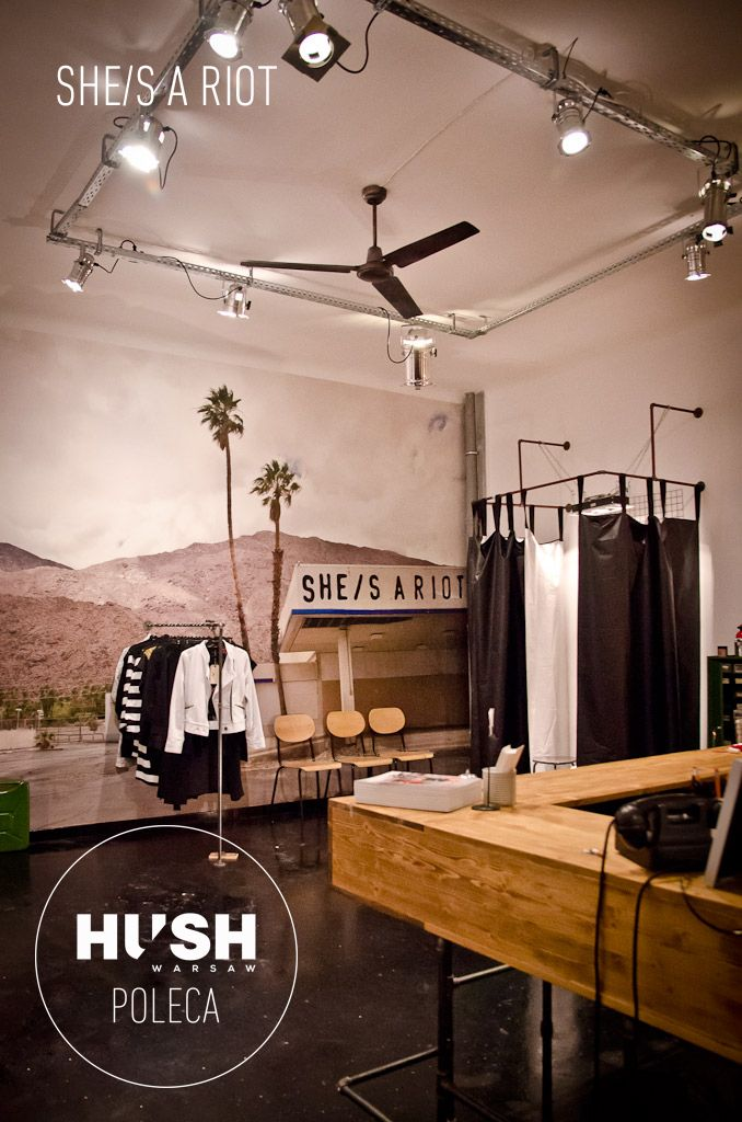 She/s a riot- fashion place recommended by HUSH Warsaw.