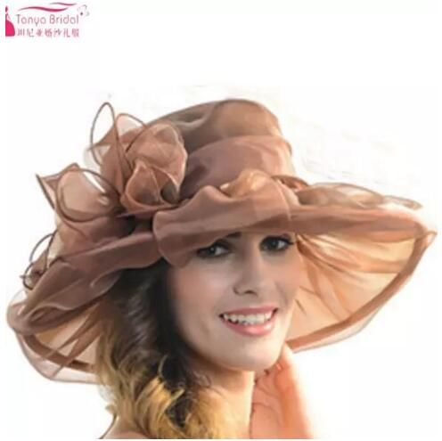 Cheap Bridal Headwear, Buy Directly from China Suppliers:Fashion wedding hats for brides diameter 31cm Evening Hats Women Elegant formal hair-accessor