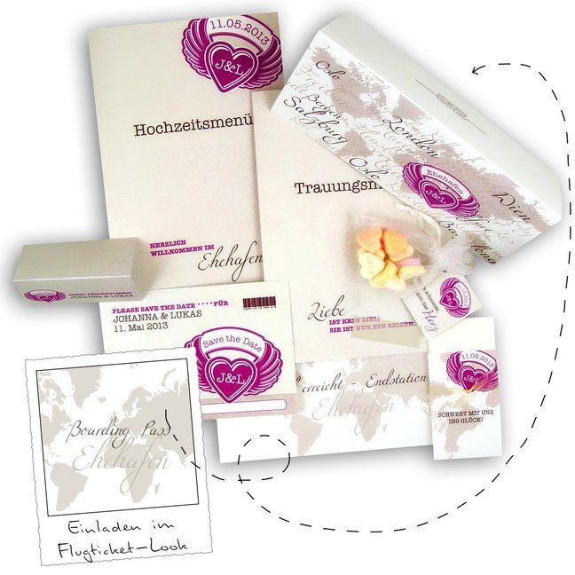 Einladungskarte Hochzeit Als Flugticket Boarding Pass: Total Angesagt Und  Cool! Http://