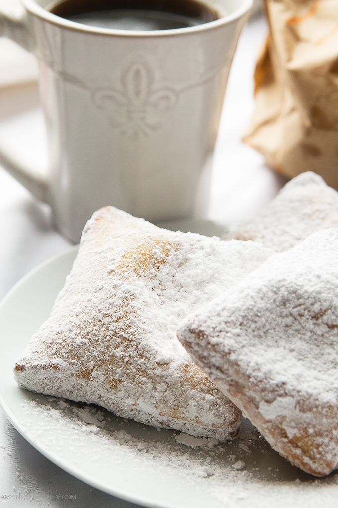 French Quarter Beignets are a New Orleans tradition. Serve them warm with cafe au lait or a hot cup of cocoa.