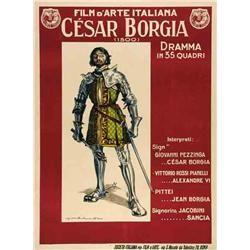 Mute movie poster - CESAR BORGIA