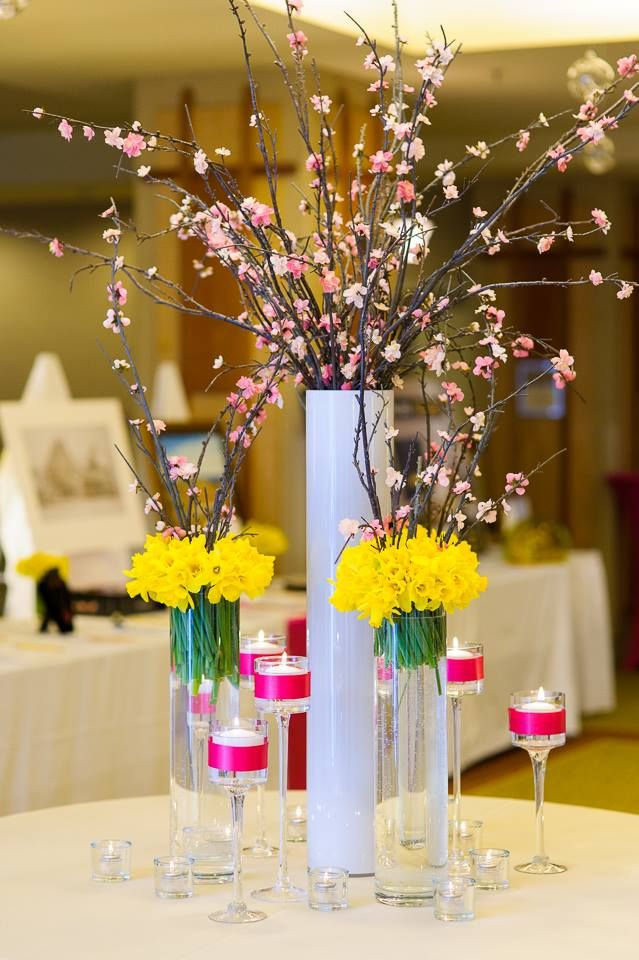 Chic spring decor for event! Moncton NB | Unico Decor