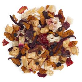 Guava Cadabra-This delicate pink tisane blends guava with mango and apple.