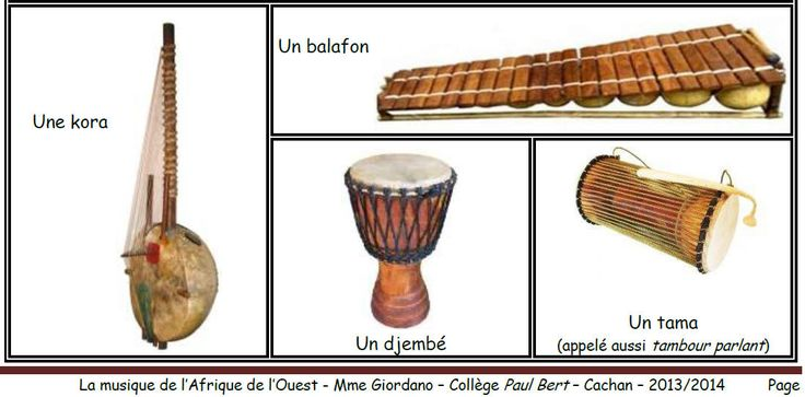 instruments africains