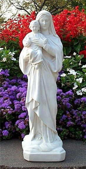 1000 Images About Mary On Pinterest Gardens Statue Of And Blessed Virgin Mary
