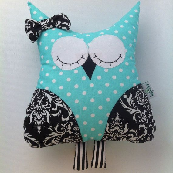 The owl stuffed toy, pillow cuddle huggable necessary soothing stuff for kids