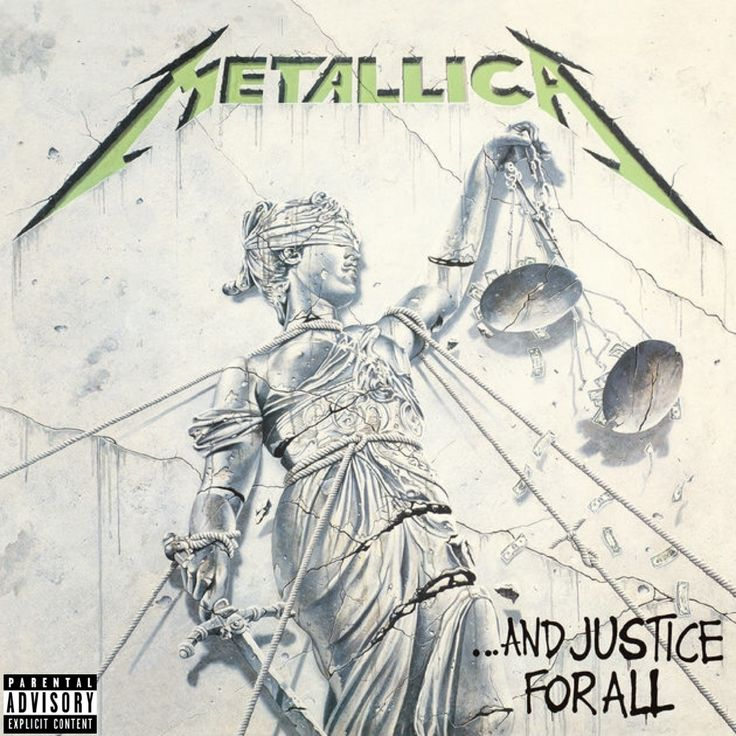 Metallica — ...And Justice for All (Aug 25 1988)