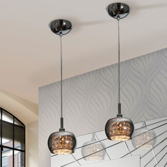 Pendant Light Arian By Schuller Glass Lampshade And Beads Inside That Creates A Magic Lighting Ambience Home Dec Glass Pendant Light Pendant Lamp Pendant Lighting